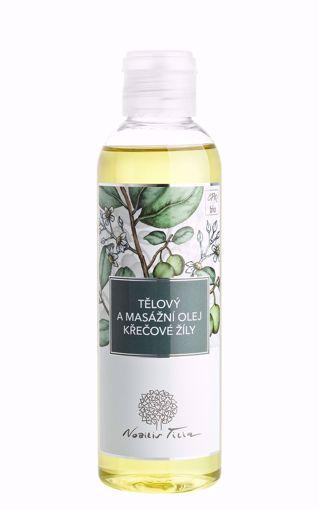 Nobilis Tilia Tělový a masážní olej Křečové žíly 200ml
