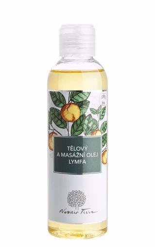 Nobilis Tilia tělový a masážní olej Lymfa 200ml