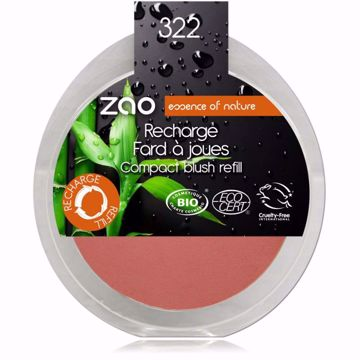 ZAO tvářenka 322 Brown Pink - náplň