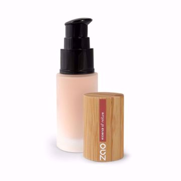 ZAO Hedvábný tekutý make-up 710 Light Peach