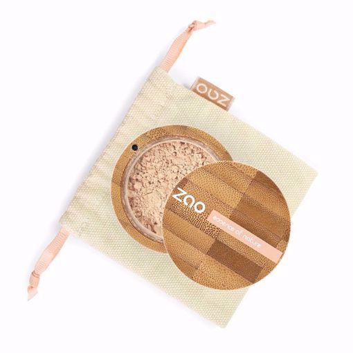 ZAO hedvábný minerální make-up 509 Sand Beige