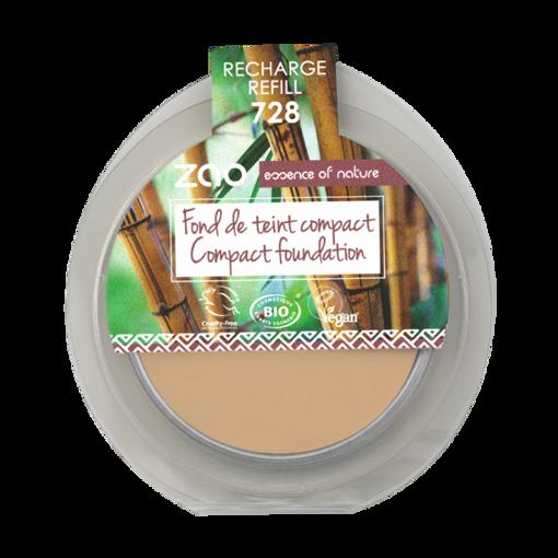 ZAO kompaktní make-up 728 Very Light Ochre - náplň