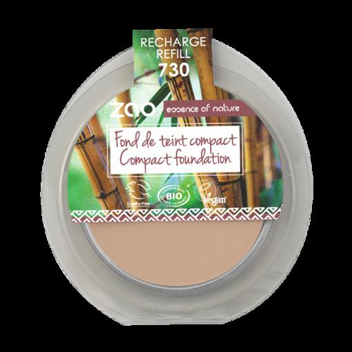 ZAO kompaktní make-up 730 Ivory - náplň