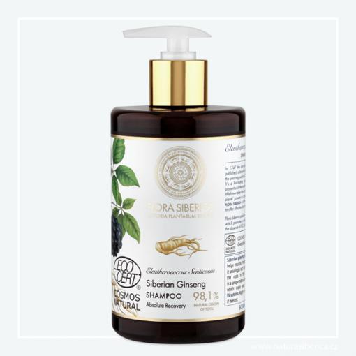 Flora Siberica Šampon pro poškozené vlasy - Úplná obnova 480ml