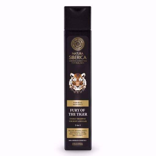 MEN Energizující šampon na vlasy a tělo 2v1 - Nezkrotnost tygra 50ml