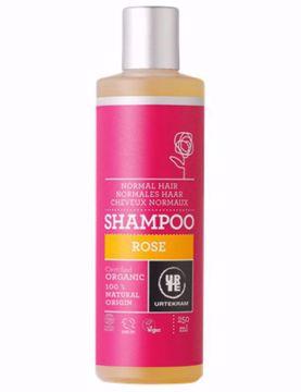 Urtekram šampon růžový - normální vlasy 250ml