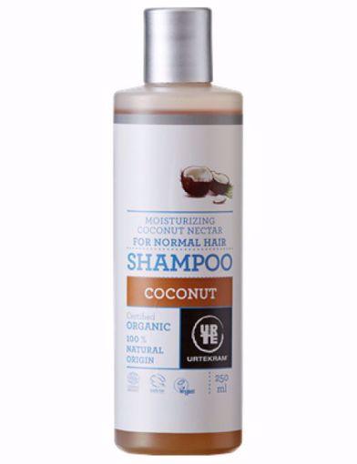 Urtekram šampon kokosový - normální vlasy 250ml