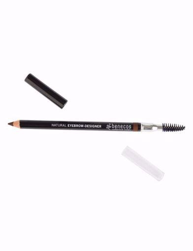 Benecos tužka na obočí - hnědá