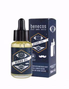 Benecos Olej na vousy pro muže 30ml
