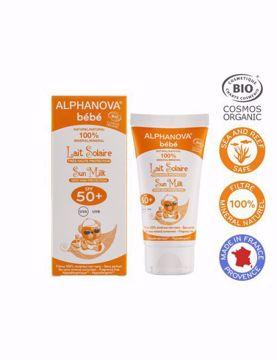 Alphanova Opalovací krém pro miminka SPF 50+ 50g