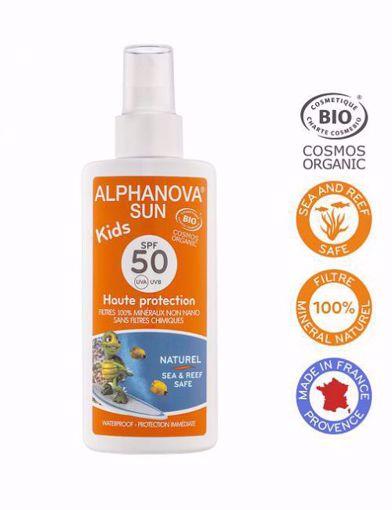 Alphanova Opalovací krém ve spreji pro děti SPF 50 125g