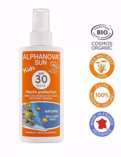 Alphanova Opalovací krém ve spreji pro děti SPF 30 125g