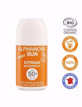 Alphanova Opalovací krém ROLL ON SPF 50+ 50g