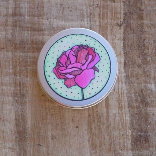 Ponio Přenoska - hliníková plechovka, růže
