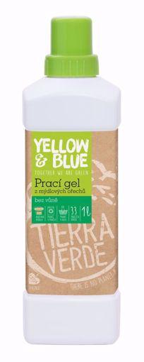 Yellow & Blue Prací gel z mýdlových ořechů bez vůně 1l