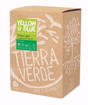 Yellow & Blue Prací gel z mýdlových ořechů bez vůně
