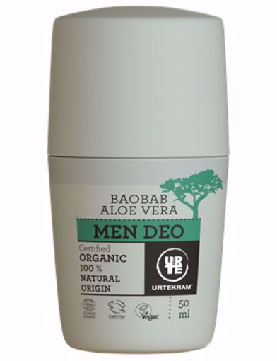 Urtekram Deodorant roll-on MEN 50ml BIO