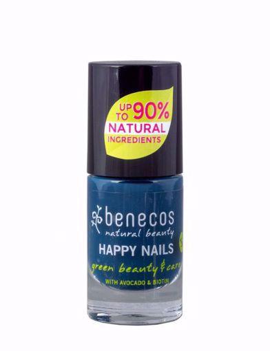 Benecos Lak na nehty - nordic blue 8 free