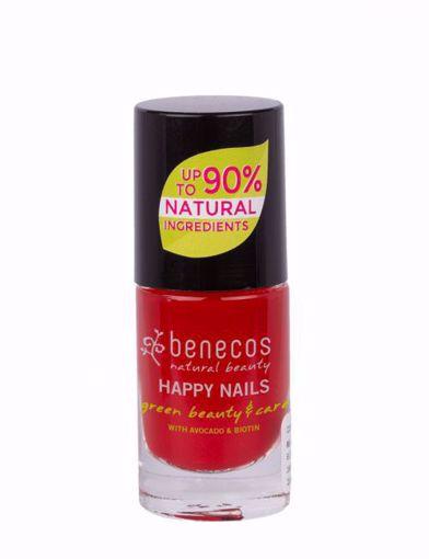 Benecos Lak na nehty - vintage red 8 free