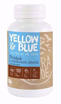 Yellow & Blue Prášek z mýdlových ořechů v biokvalitě 100g dóza