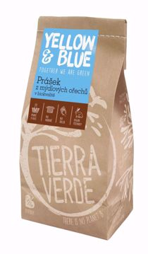 Yellow & Blue Prášek z mýdlových ořechů v biokvalitě 500g sáček