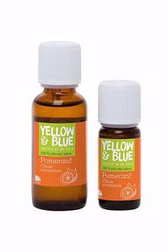 Yellow & Blue Silice Pomeranč 10ml