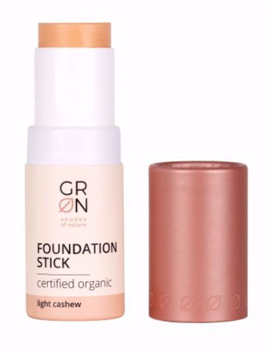 GRN Organics Make-up v tyčince - light cashew BIO, VEG