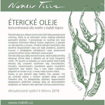 Nobilis Tilia Brožura éterické oleje