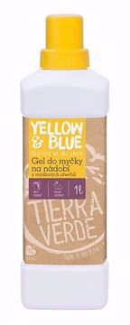Yellow & Blue Gel do myčky na nádobí z mýdlových ořechů 1l