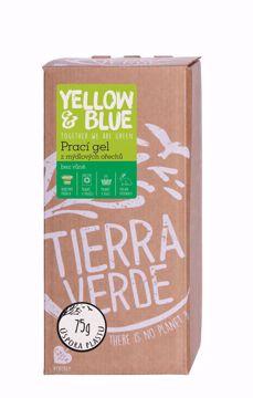 Yellow & Blue Prací gel z mýdlových ořechů bez vůně bag-in-box