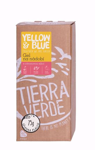 Yellow & Blue Gel na nádobí bag-in-box