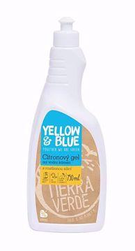 Yellow & Blue Citronový gel na vodní kámen 750ml