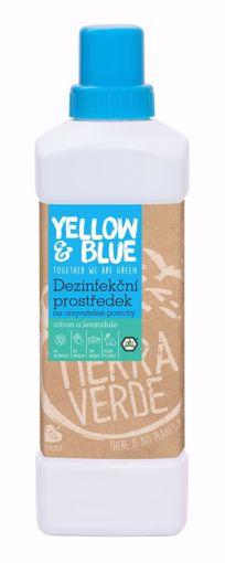 Yellow & Blue Dezinfekční prostředek na omyvatelné povrchy s citronovou a levandulovou silicí 1l
