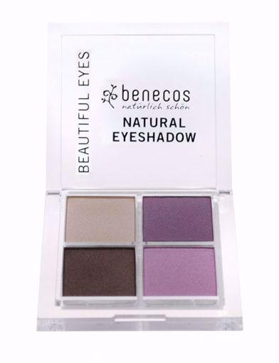 Benecos Oční stíny 4paletka - beautiful eyes BIO, VEG 7,2g