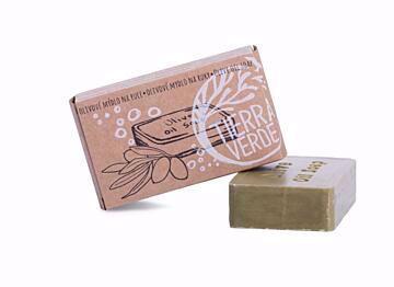 Tierra Verde Olivové mýdlo na ruce (v krabičce 100 g)