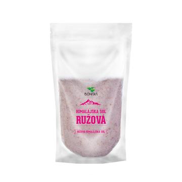 Bonitas Sůl Himalájská Růžová Jemná 500g