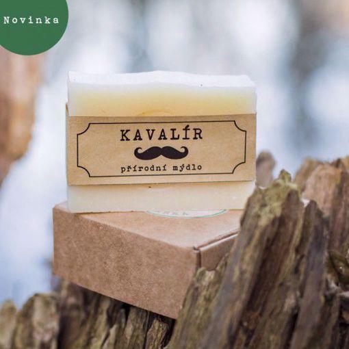 Mýdlárna Nežárka mýdlo Kavalír 80g