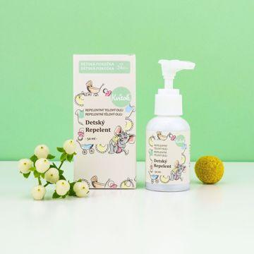 Navia/Kvitok Dětský repelentní olej 50ml