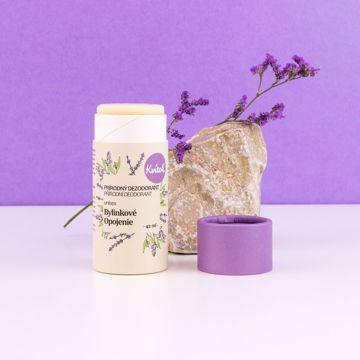Navia/Kvitok Tuhý deodorant Bylinkové opojení 42ml