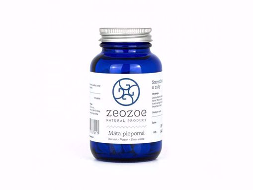ZEOZOE zubní tablety - Máta peprná 90ks