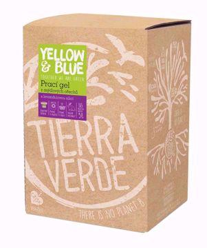 Yellow & Blue Prací gel z mýdlových ořechů s levandulovou silicí