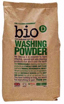 bio-D Prášek na praní bez vůně 1kg