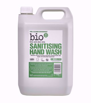bio-D Tekuté mýdlo na ruce Aloe Vera & Limetka - 5l kanystr