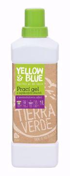 Yellow & Blue Prací gel z mýdlových ořechů s levandulovou silicí 1l