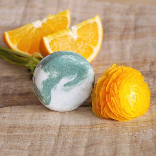 Ponio tuhý šampon kopřivový - Pomeranč a Eukalyptus 30g