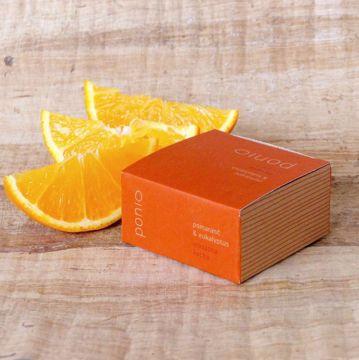 Ponio masážní kostka - Pomeranč a Eukalyptus 50g