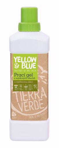 Yellow & Blue Prací gel z mýdlových ořechů se silicí vavřínu kubébového 1l