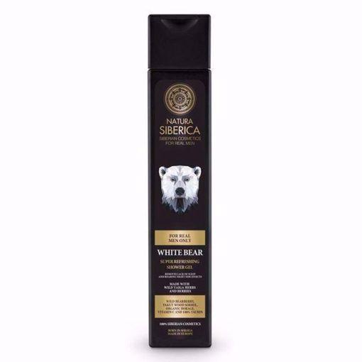 MEN Super osvěžující sprchový gel – Lední medvěd