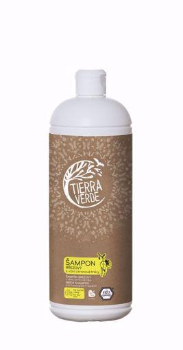 Obrázek z Tierra Verde Březový šampon na suché vlasy s vůní citronové trávy 1 l