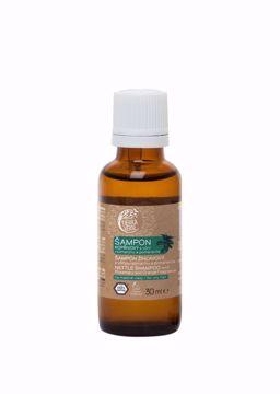 Obrázek Tierra Verde Kopřivový šampon na mastné vlasy s vůní rozmarýnu a pomeranče 30ml